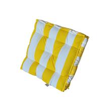 Futon Jardim Tecido Hidrorepelente Amarelo 50x50cm
