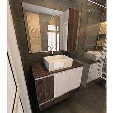 Gabinete de Banheiro 60x80x45cm Barcelona Branco Tx e Tempranillo Venturi