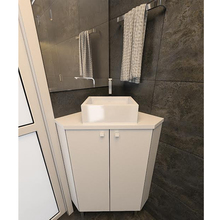Gabinete de Banheiro 77X60X60cm Branco Tx Venturi