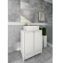 Gabinete de Banheiro 78x60x45cm Kids Branco Tx Venturi