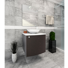 Gabinete de Banheiro Cordova 50x45x45cm Wengue Venturi