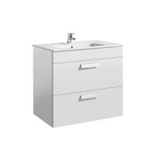 Gabinete de Banheiro Debba 72x50x36cm Branco Debba Roca