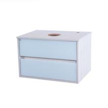 Gabinete de Banheiro madeira Rovere Sereno 40x61x45cm Murano FermarScalline