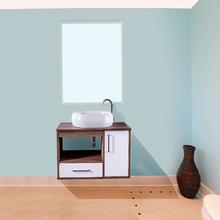 Gabinete de Banheiro Madeira Gris 48x75x45,30cm Granada FermarScalline