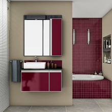 Gabinete de Banheiro Madeira 50x89x43cm Ebano e Bulgaro Massimo Mazzu