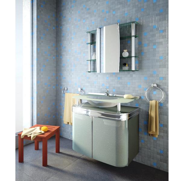 Gabinete Para Banheiro Master 71x625x46cm Cris Metal Leroy Merlin