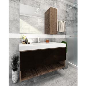 Gabinete de Banheiro Rennes 65x80x45cm Antique Wood Venturi