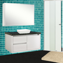 Gabinete de Banheiro Savana Suspenso 41x71x39,5cm Branco Gaam