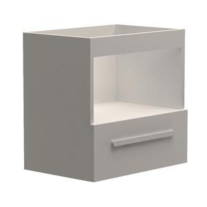 Gabinete de Banheiro Trend Branco/Branco Gaam