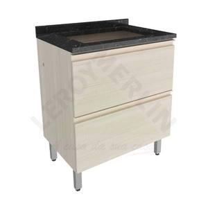 Gabinete de Cozinha Belissima 0,9x0,7x0,5cm Saara Wood Itatiaia