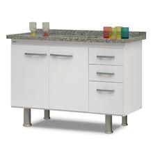 Gabinete de Cozinha Branco 60x114x53cm Delinia