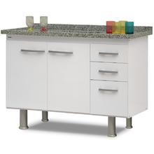 Gabinete de Cozinha Delinia Branco 120cm