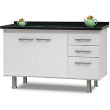 Gabinete de Cozinha Delinia Branco 150cm