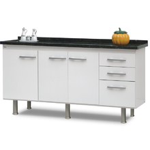 Gabinete de Cozinha Delinia Branco 180cm