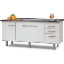 Gabinete de Cozinha Delinia Branco 200cm