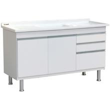 Gabinete de Cozinha Ferrara 1,44m Branco