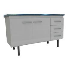 Gabinete de Cozinha Sonic 120cm Branco