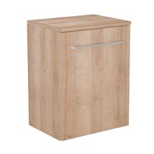 Gabinete Modulado para Banheiro com 1 Porta e Prateleira 45x32cm Amadeirado Claro Remix