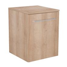 Gabinete Modulado para Banheiro com 1 Porta e Prateleira 45x46cm Amadeirado Claro Remix