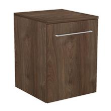 Gabinete Modulado para Banheiro com 1 Porta e Prateleira 45x46cm Amadeirado Escuro Remix