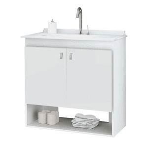 Gabinete New WC Branco Sicmol