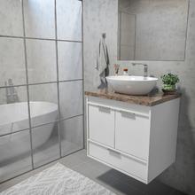 Gabinete Para Banheiro Com Cuba E Espelho Leroy Merlin