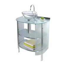 Gabinete para Banheiro Cris-Space 88x62,5x48 Incolor Cris Metal