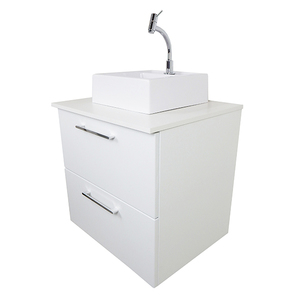 Gabinete para Banheiro Luiggi 57x61x48cm Branco Venturi