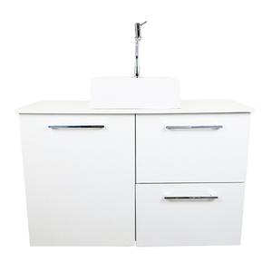 Gabinete para Banheiro Nicolas 57x90x35cm Branco Venturi