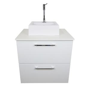 Gabinete para Banheiro Puerto 57x46x35cm Branco Venturi