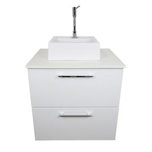 Gabinete para Banheiro Puerto 57x46x48cm Branco Venturi