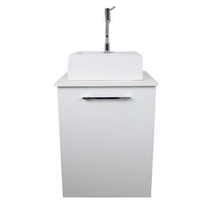 Gabinete para Banheiro San 57x46x48cm Branco Venturi
