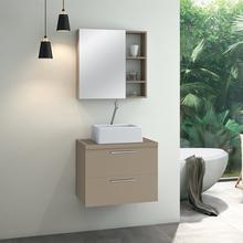 Gabinete para Banheiro Santorini 47x60x40 Capuccino Astral Design