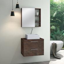 Gabinete para Banheiro Santorini 47x60x40 Corten Astral Design