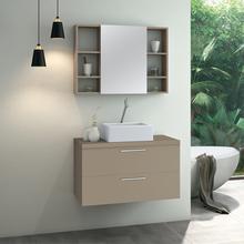 Gabinete para Banheiro Santorini 47x80x40 Capuccino Astral Design