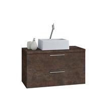 Gabinete para Banheiro Santorini 80 47x80x40cm Corten AstralDesign