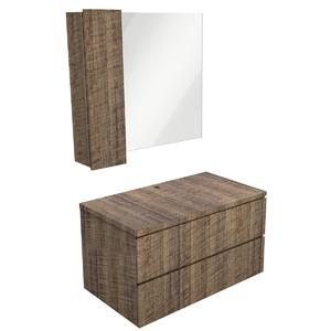 Gabinete para Banheiro Sisco 52x80x45cm Antique Wood Venturi