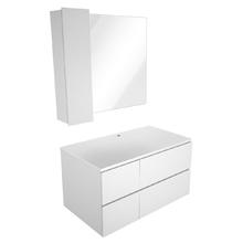 Gabinete para Banheiro Sisco 52x80x45cm Branco Venturi