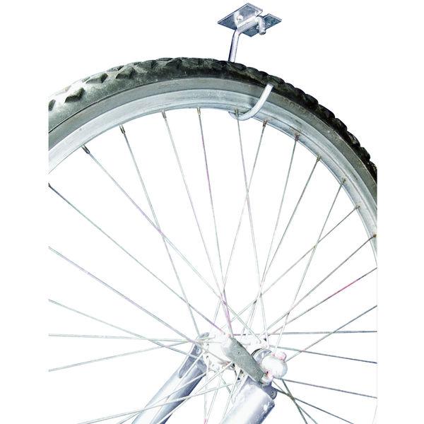 dc1ee9079 Suporte para Bicicleta de Teto ou Parede Metal Prata Maxeberhard ...