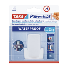Gancho Adesivo 2kg Plástico Branco tesa Powerstrips®