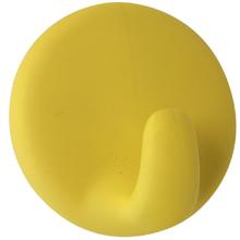 Gancho para Pano Adesivo Plástico Amarelo Importado