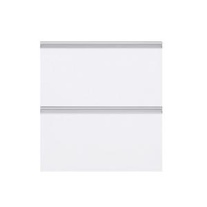 Gaveteiro Basculante Cristal Branco 70x59,7x50cm Grenoble Delinia