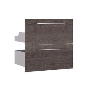 Gaveteiro Modular Madeira Amadeirado Escuro 57,4x59,7x40cm Remix Sensea