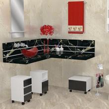 Gaveteiro Modular para Banheiro Madeira Branco 532x270x350cm Módulo Flex Sicmol