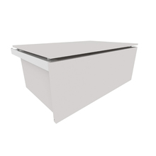Gaveteiro New Plus Grande Branco 60x44x24 Spaceo