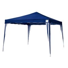 Gazebo Poliéster Articulável Azul 300x300cm Belfix