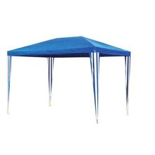 Gazebo Ráfia Azul 2,5x3x2m