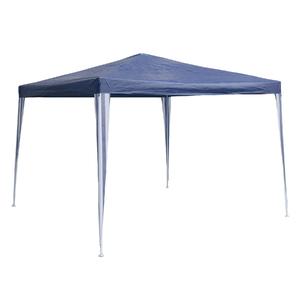 Gazebo Ráfia Azul 2,5x3x3m