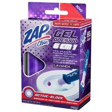 Gel Sanitario Adesivo 6 em 1 Lavanda + Aparelho e Refil Zap