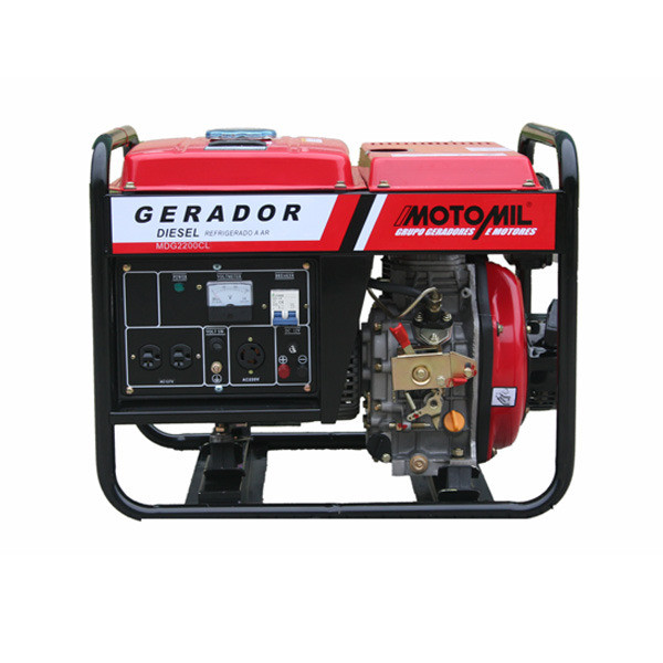 8b006ddf548 Gerador à Diesel 2.2 Kva Bivolt MDG2200CL Motomil